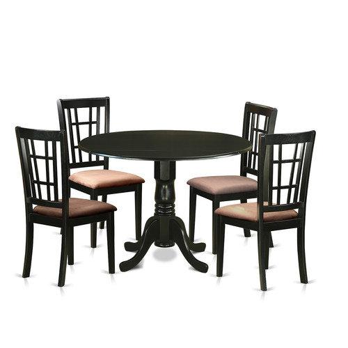 August Grove Spruill 5 Piece Extendable Dining Set