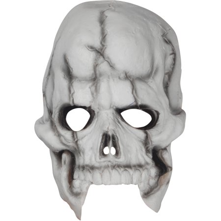 Loftus Halloween Skeleton Costume Face Mask, White Black, One Size