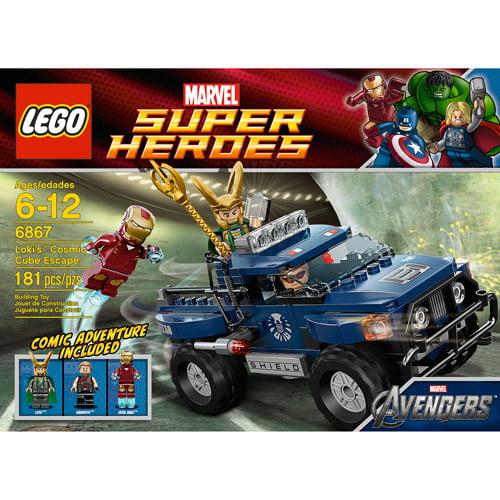 LEGO Marvel Super Heroes Loki's Cosmic Cube Escape Play Set ...
