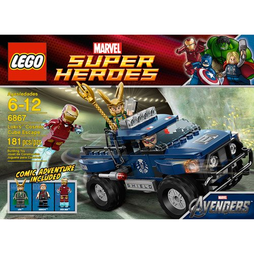 lego marvel super heroes loki s cosmic cube escape play set