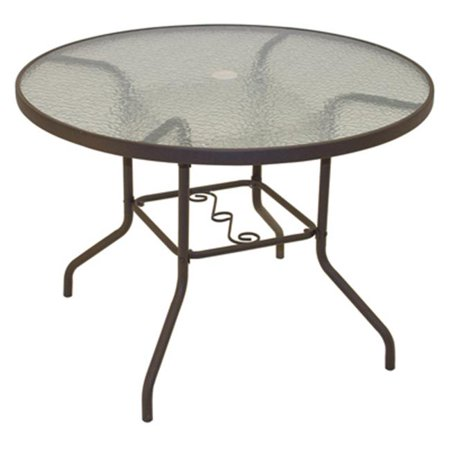 Rio brands pts40 ts sienna collection patio dining table for Best dining table brands