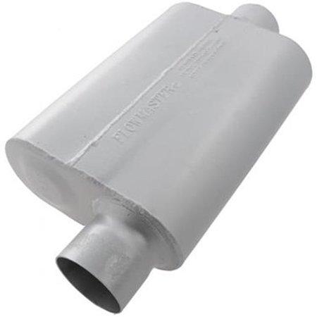 FLOWMASTER 943041 Exhaust Muffler 40 Series 3 inch Offset Inlet