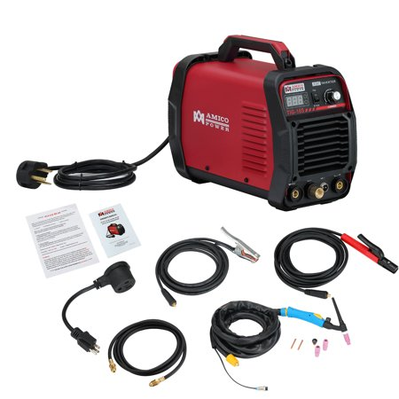 Amico TIG-165 160 Amp HF TIG Torch Stick Arc Welder 115 & 230V Dual Voltage Welding