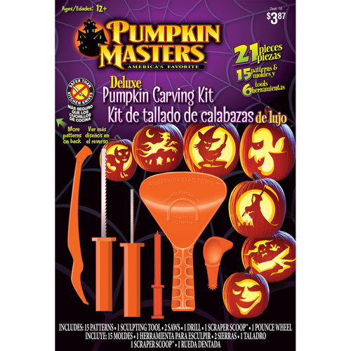 Pumpkin Masters Deluxe Pumpkin Carving Kit