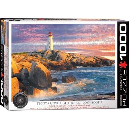 Peggy's Cove Lighthouse 1000-Piece Puzle ()