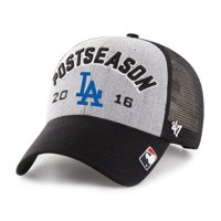 Los Angeles Dodgers '47 2016 NL West Division Champions Locker Room Adjustable Hat - Gray - OSFA