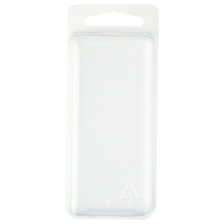 - Clear Plastic Clamshell Package / Storage Container, 3.06