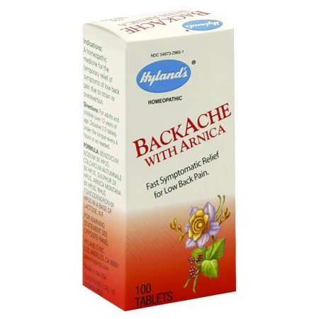 how to take arnica tablets