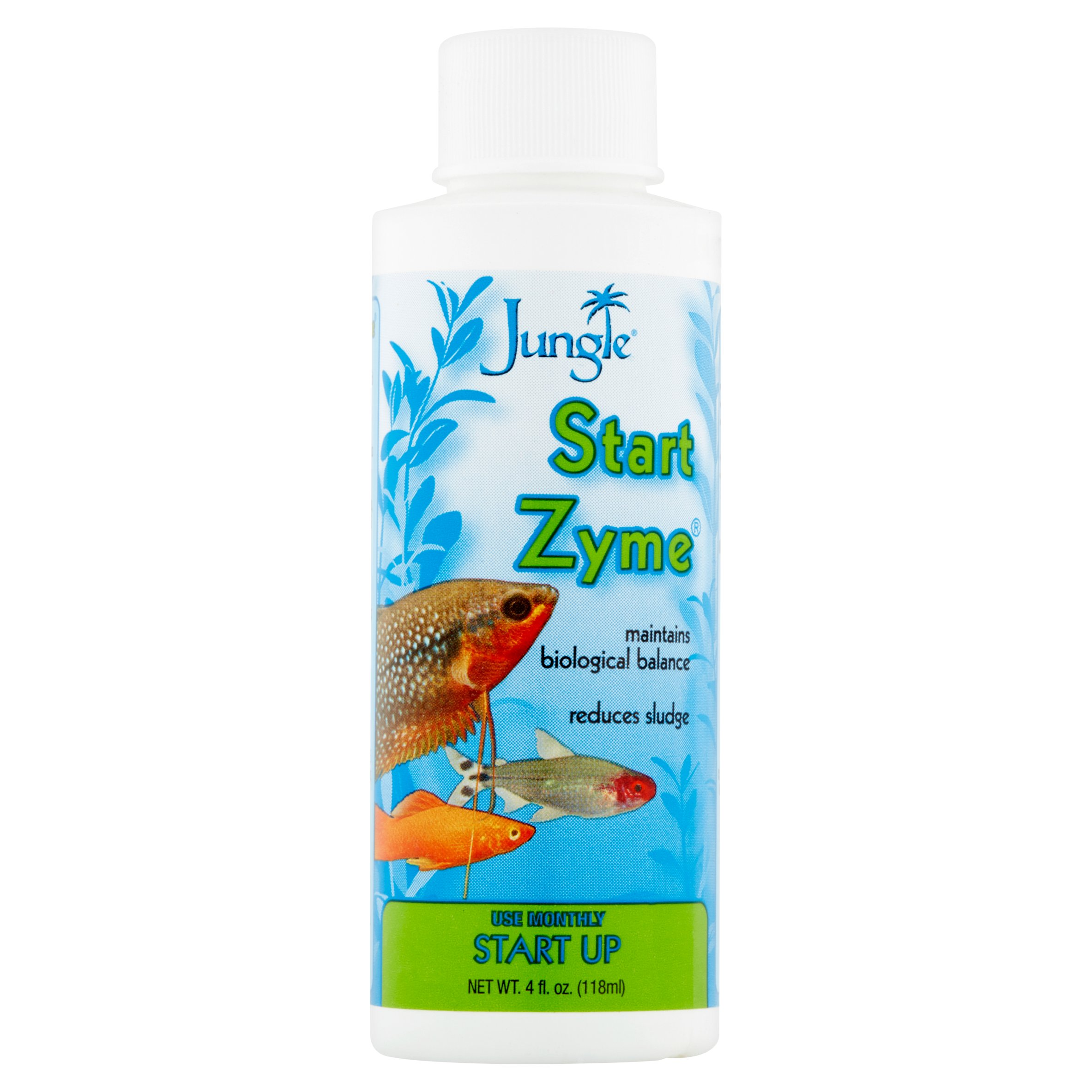 Jungle Start Zyme Aquarium Start Up Formula, 4-Ounces