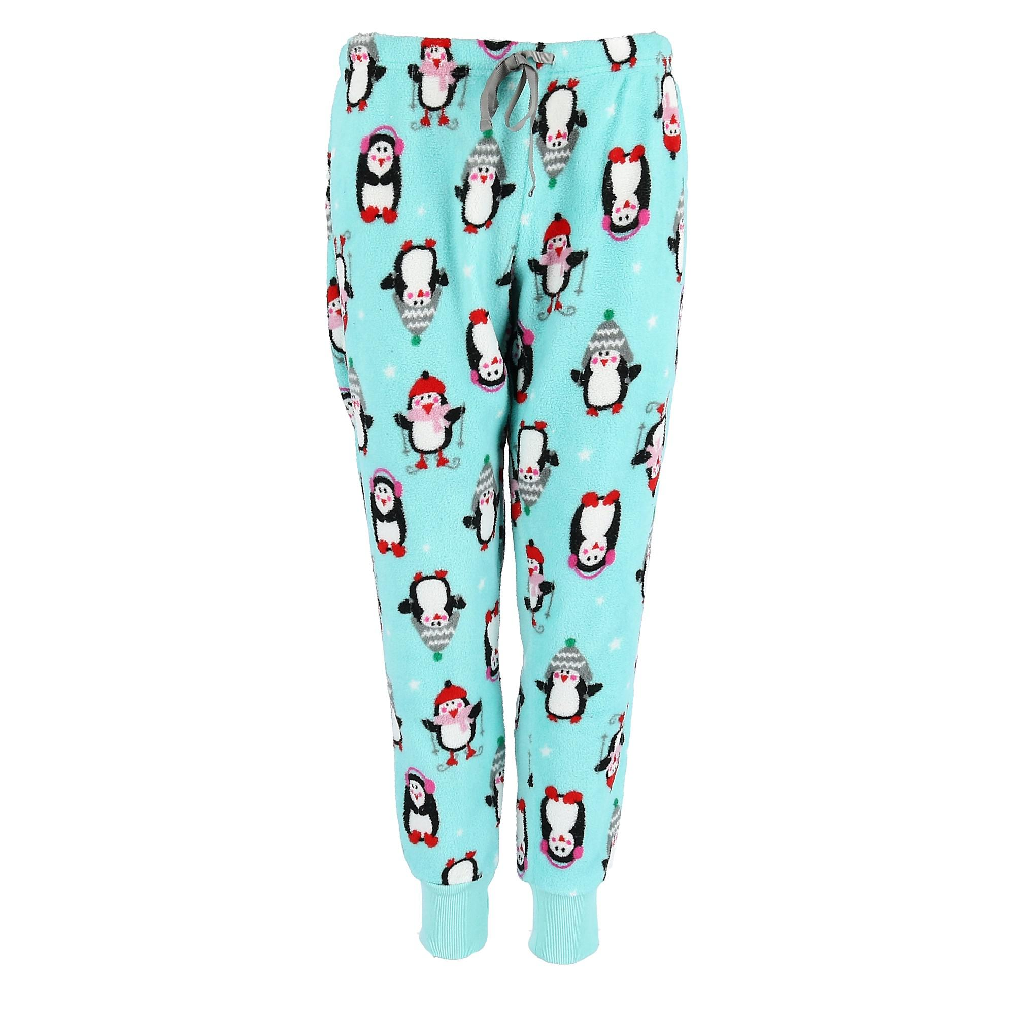 PJ Couture Women's Patterned Jogger Pajama Pants - image 2 of 2