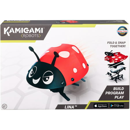 Kamigami Lina Ladybug Build Program Play Engineering STEM