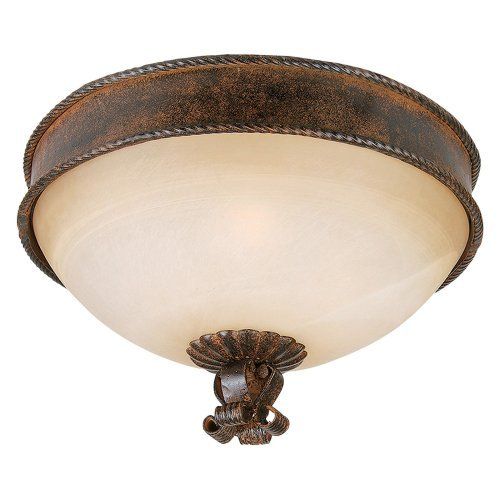 Yosemite 93911-14 Three Light Down Lighting Flush Mount Ceiling Fixture from the