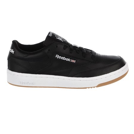 Reebok Club C 85 Sneaker - Black/White Gum - Mens - 11.5