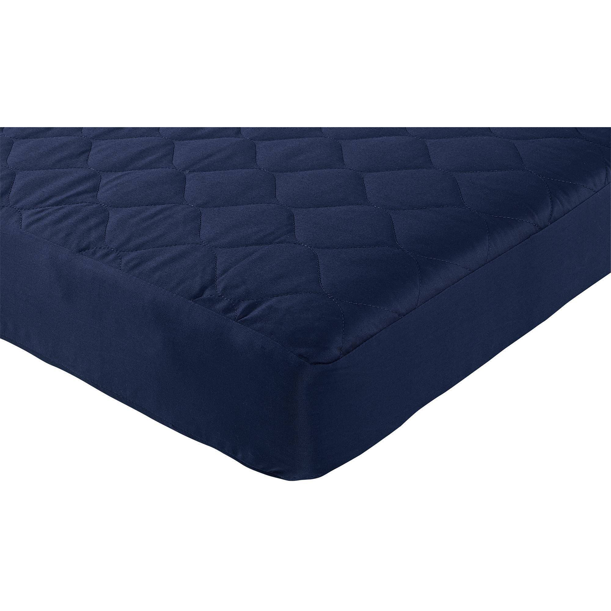 Dorel Home 6 Full Quilted Top Bunk Bed Mattress Navy Walmart Com