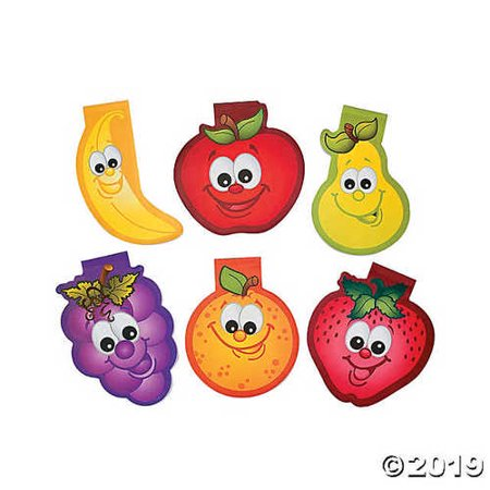 Fruit Die Cut Notepads