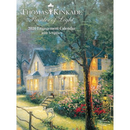 Thomas Kinkade Painter of Light with Scripture 2020 Engagement