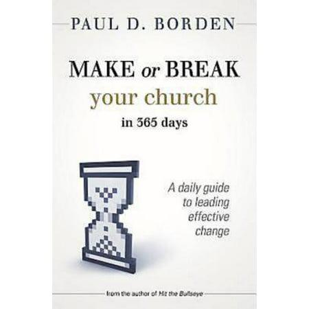 Make or Break Your Church in 365 Days - eBook
