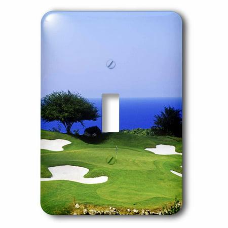 3dRose White Witch Golf Course, Montego Bay, Jamaica-CA22 GJO0127 - Greg Johnston - Single Toggle Switch (Montego Single)