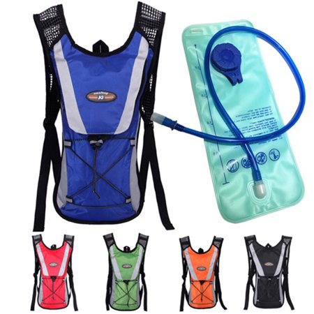 - Hydration Backpack Thermal Insulation Pack Keeps Liquid Cool up to 4 Hours, Prefect Outdoor Gear for Skiing, Running, Hiking, Cycling(Blue)