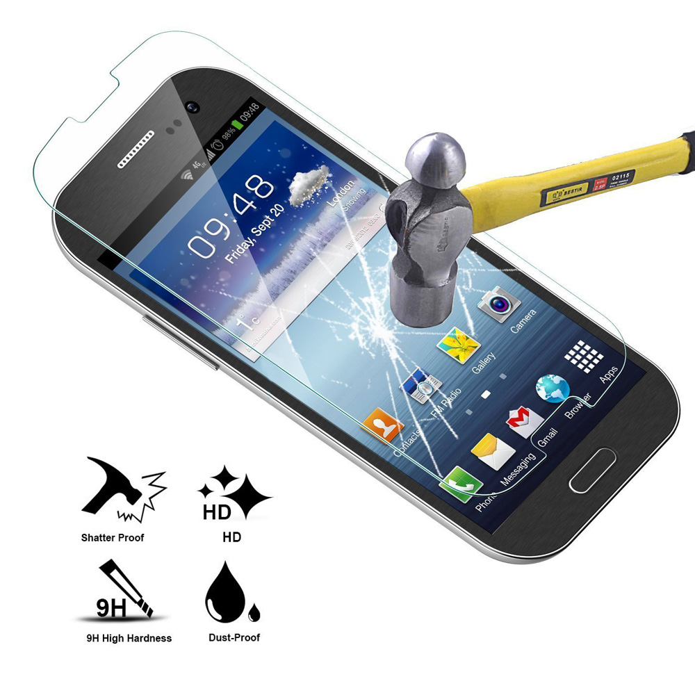 Mica Crystal Tempered Glass for Samsung Galaxy S3