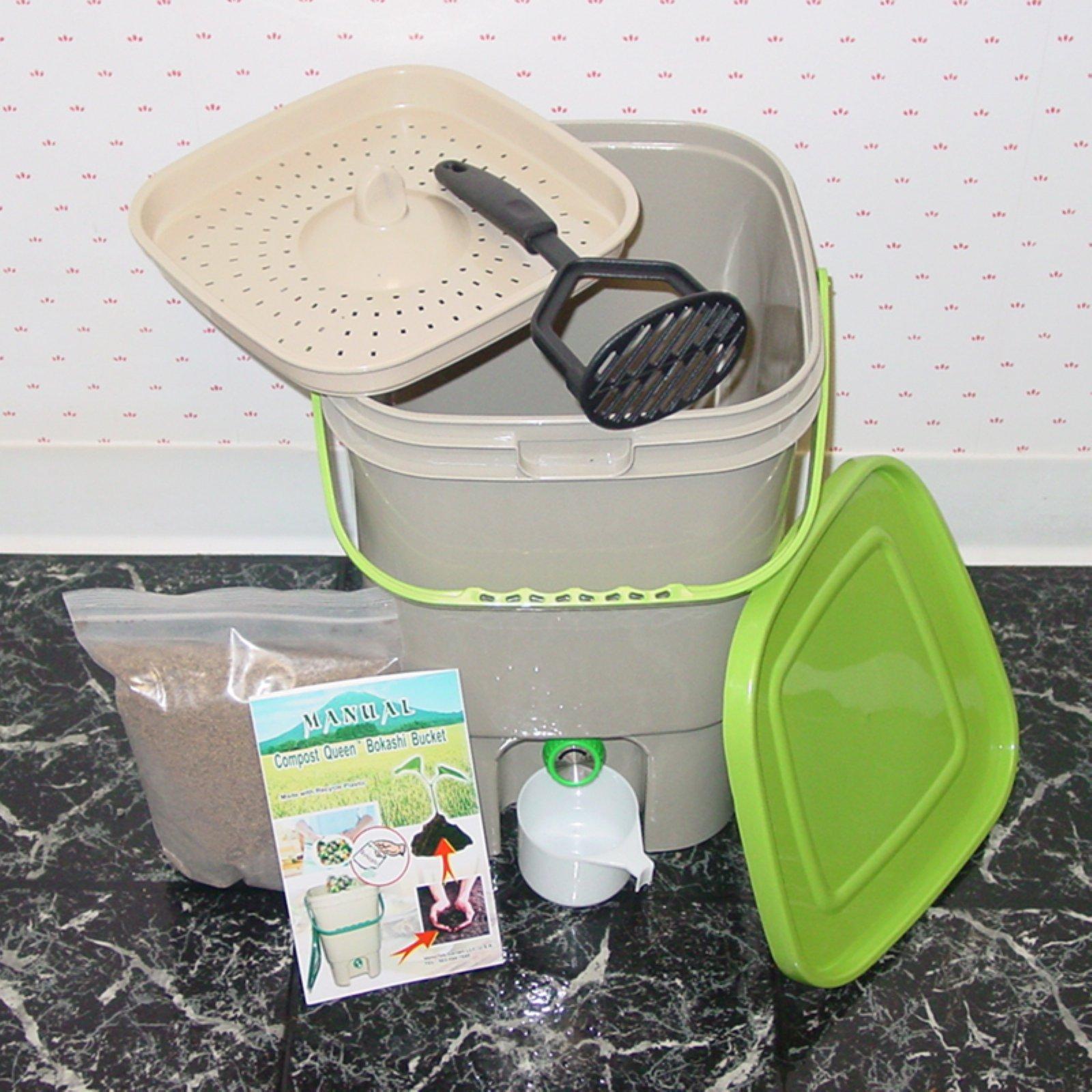 Vermitek Bokashi Compost Kit by Green Life LLC