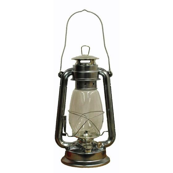 Silver Hurricane Kerosene Oil Lantern Emergency Hanging