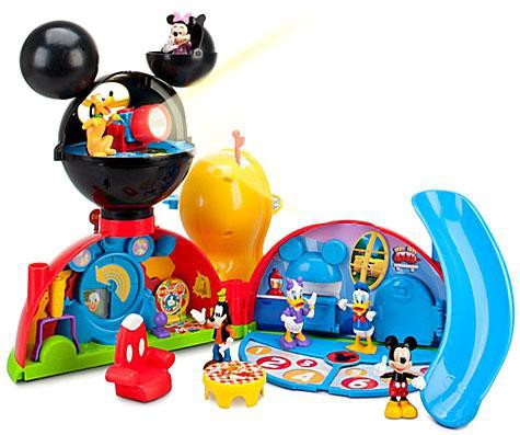 Exclusive Mickey Mouse 38561 Clubhouse Adventures Playset with Bonus Figures