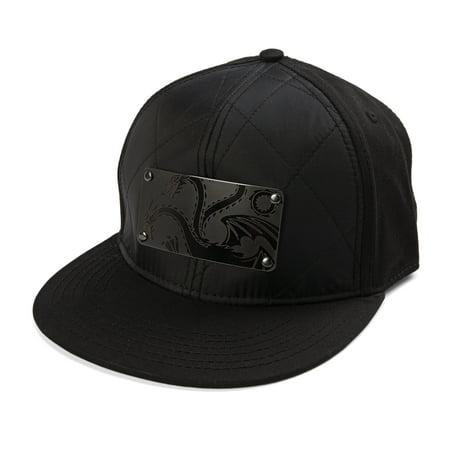 Game of Thrones Targaryen Metal Badge Logo Snapback Baseball Cap Regimental Cap Badges