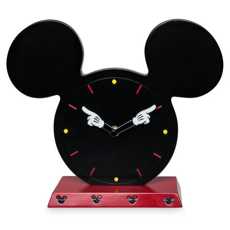 Disney Parks I Am Mickey Mouse Tabletop Clock New with Box (Insight Tabletop Clock)