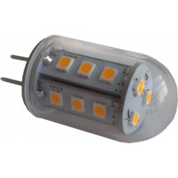 Multipack of THREE (3) of LED Waterproof 3W (Eq to 30W Halogen) G4 12V AC/DC Lamp