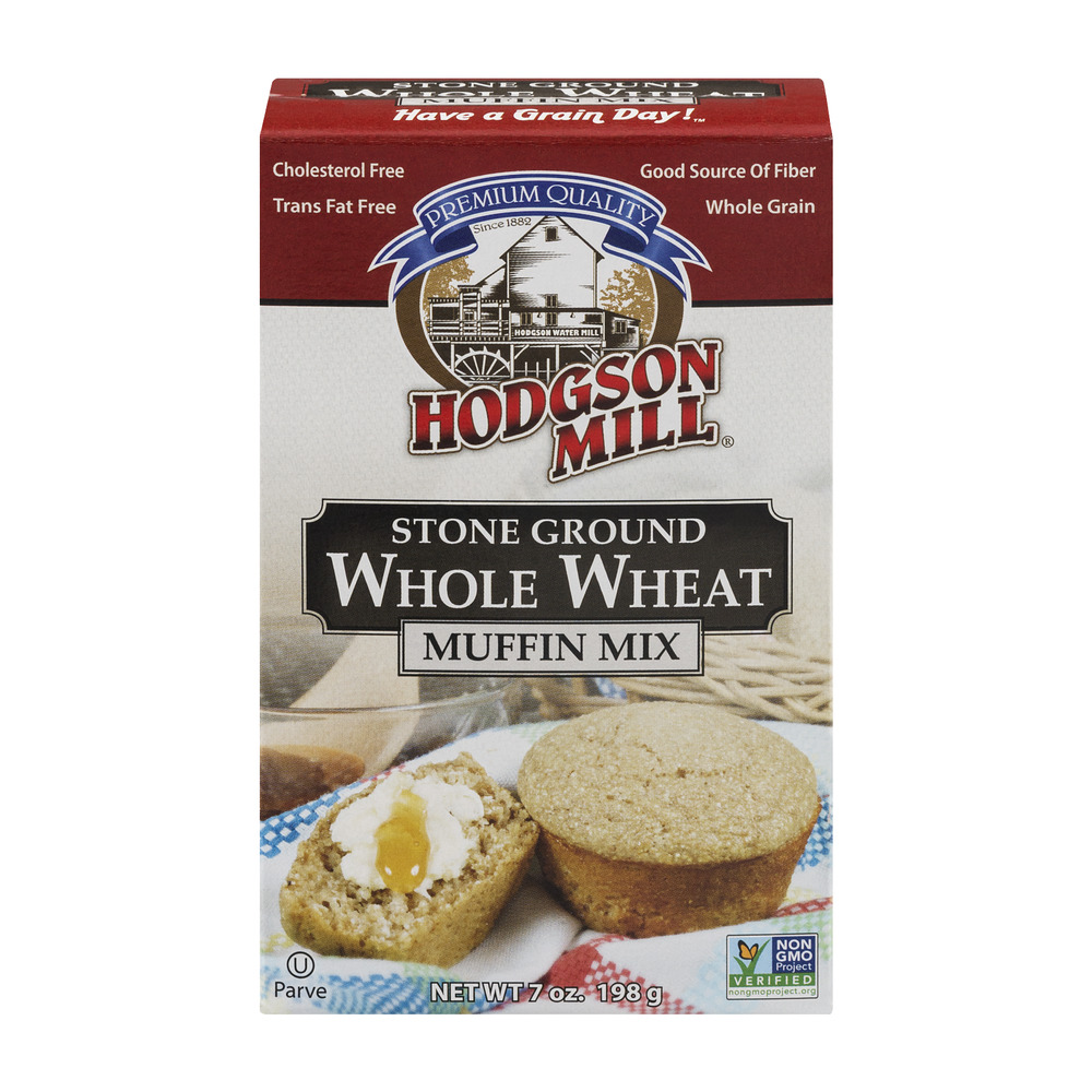 Hodgson Mill Stone Ground Whole Wheat Muffin Mix, 7.0 OZ