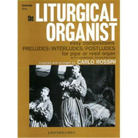Hammond Organ Music - Alfred 00-FE07324 The Liturgical Organist- Volume 1 - Music Book