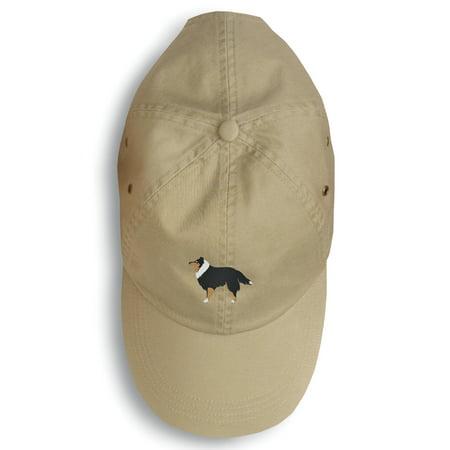 Sheltie/Shetland Sheepdog Embroidered Baseball Cap (Sheepdog Baseball)
