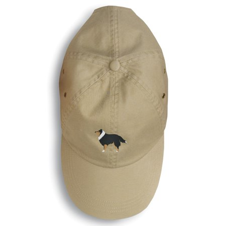 Sheltie/Shetland Sheepdog Embroidered Baseball Cap BB3430BU-156 ()