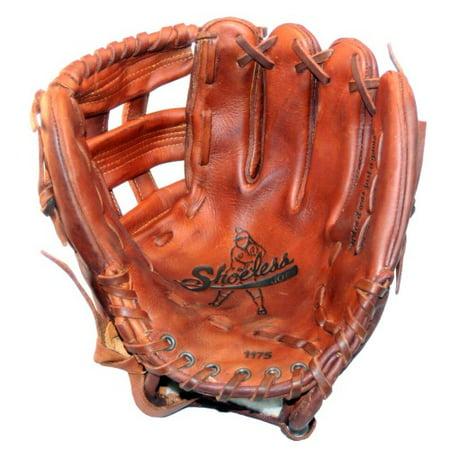 11.75 Infielders Baseball Glove - Shoeless Joe Baseball Fielding Glove 11.75