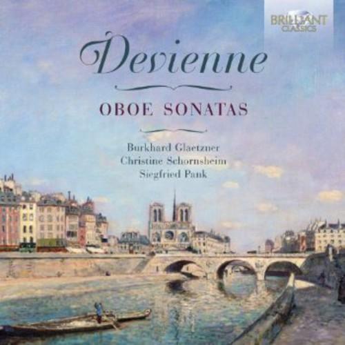 F. Devienne Fran Ois Devienne: Oboe Sonatas [CD] by