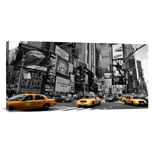 Global Gallery 'Times Square, New York City, USA' by Doug Pearson Photographic Print on Wrapped Canvas