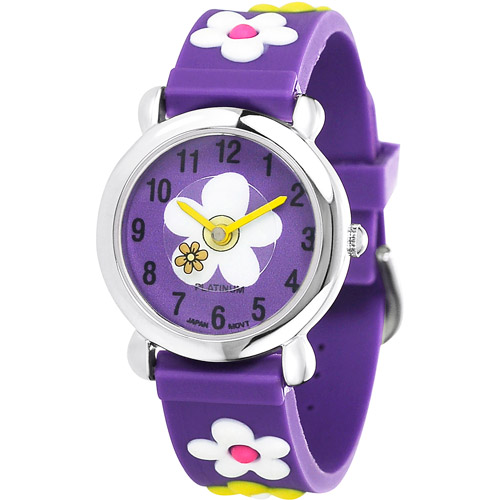 Brinley Co. Girls' Silicone Watch