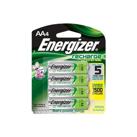 Energizer Aa Rechargeable Nimh Batteries 12 Pack Free Shipping
