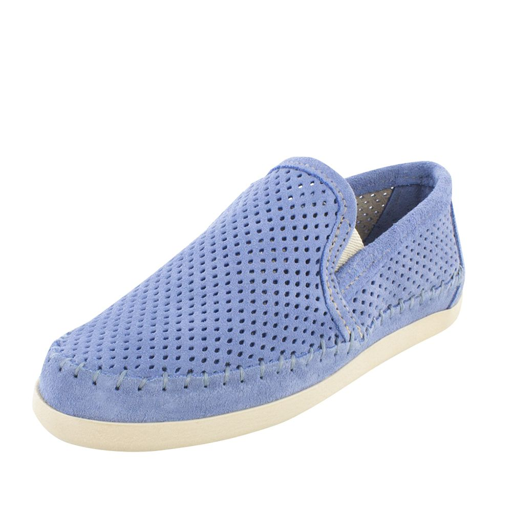 Minnetonka Womens Periwinkle Blue Perforated Pacific by MINNETONKA