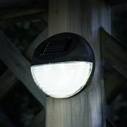 Solar Lights Outdoor Rechargeable Battery Ed Led Exterior Lighting With Auto On For Home