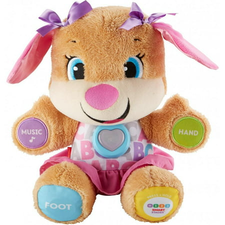 Fisher Price Snuggle (Fisher-Price Laugh & Learn Smart Stages Sis with 75+ Songs &)