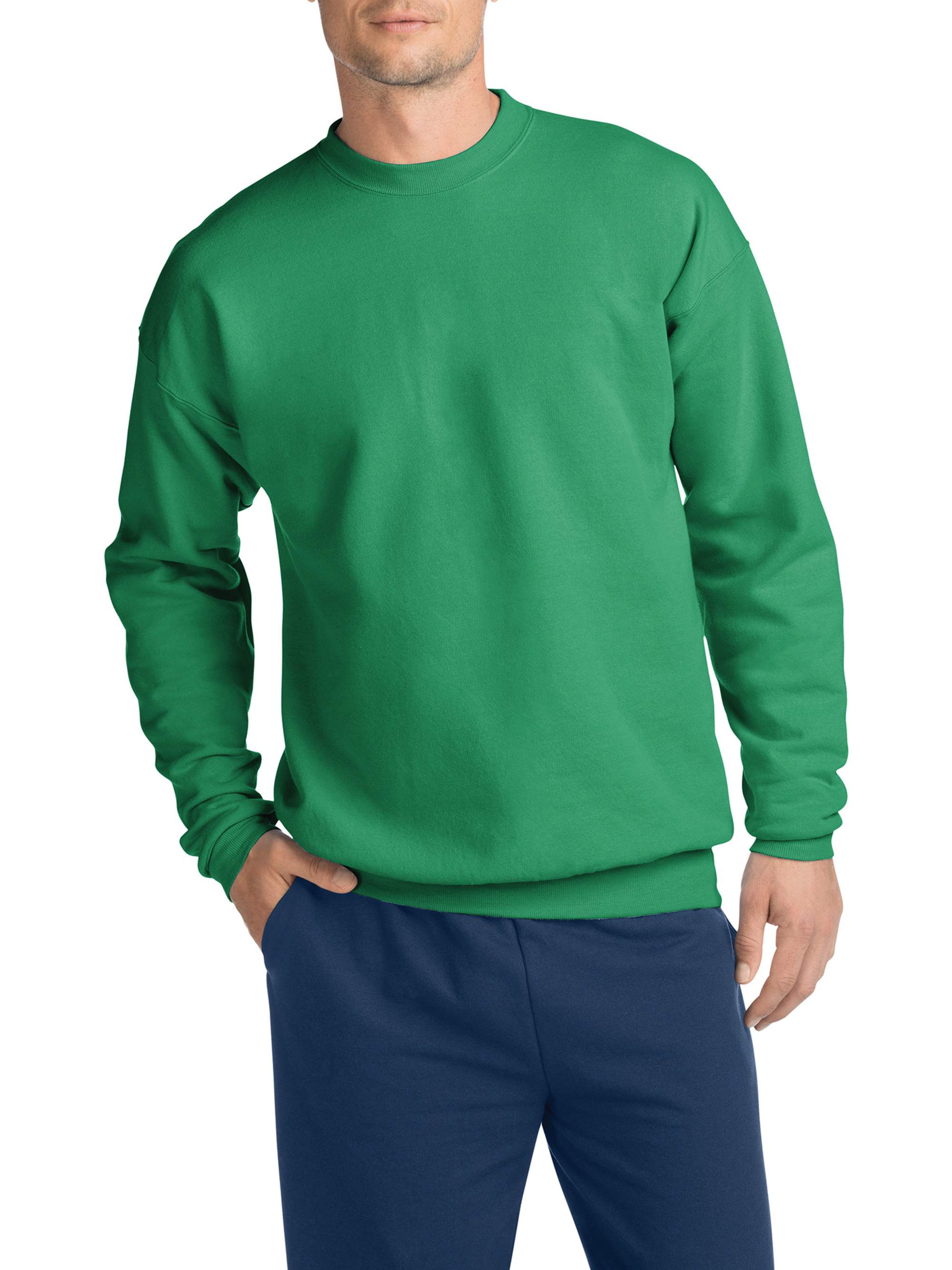 Men's Ecosmart Medium Weight Fleece Crew Neck Sweatshirt