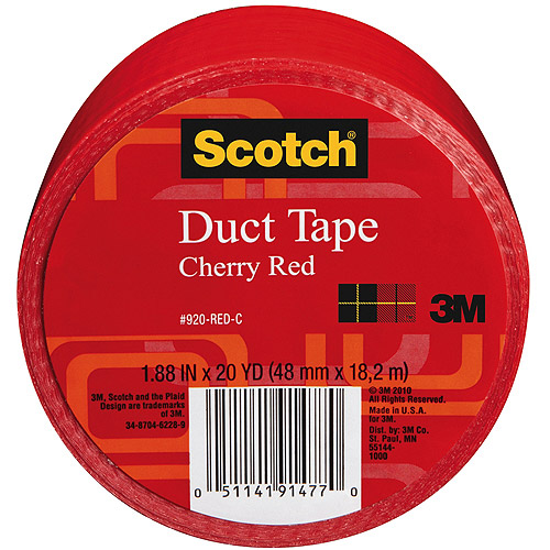 "3M Scotch Solid Color Duct Tape 1.88"" x 20 yds"