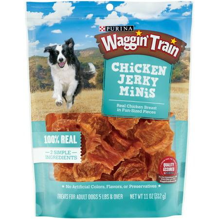 Purina Waggin Train En Y Minis Dog Treats 11 Oz Pouch