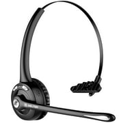 Delton Products Over-the-Head Skype Bluetooth Wireless Computer Headset with Mic
