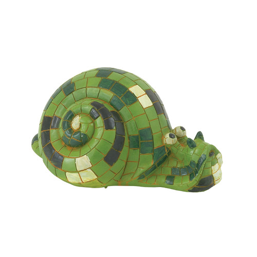Cole & Grey Polystone Snail Statue by DecoMode Collection