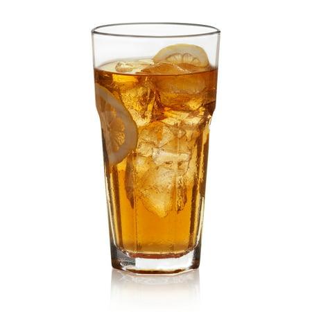 Libbey  Gibraltar Iced Tea Glasses, Set of 12 (Tea Stone Glass)