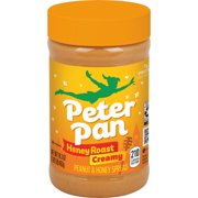 Peter Pan Creamy Honey Roasted Peanut Butter 16.3 Oz