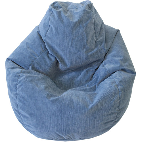 Large Tear Drop Micro-Fiber Suede Corduroy Bean Bag